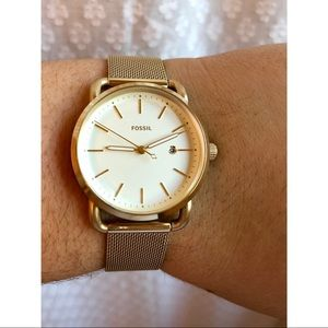 Fossil Women's Commuter Watch in Gold